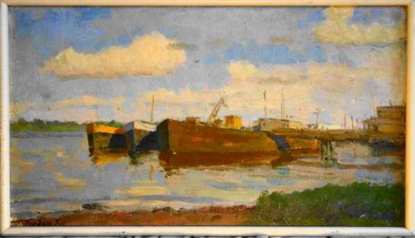 Картина 40х70 Гордон Г. М Холст, масло,1980 г