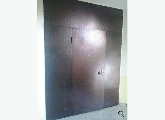 Двери, перегородки металлические (тамбурные)