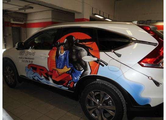 наклейки на автомобили в Екатеринбурге фото 6