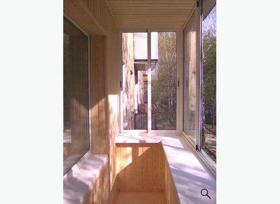 Обшивка лоджий и балкнов в Екатеринбурге фото 4