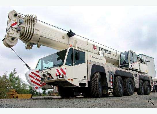 Аренда автокрана 140 тонн 60(93) метров Terex-Demag AC 140