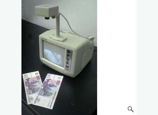 Детектор банкнот Фрэйм видео