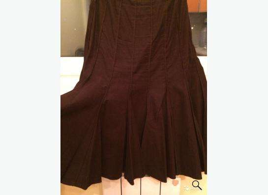 Женская вельтовая юбка размер 42 Madeleine