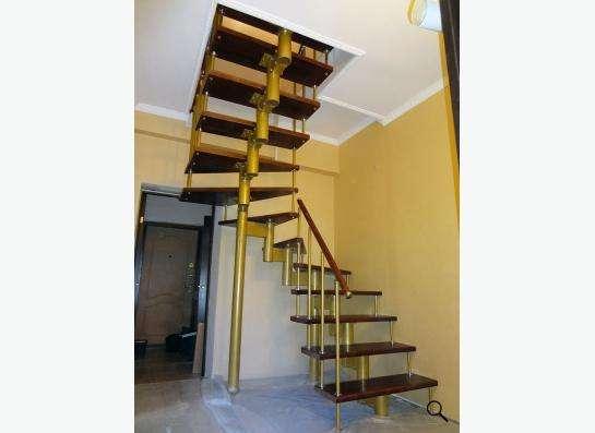 Современная, стильная, надежная лестница в Москве фото 13
