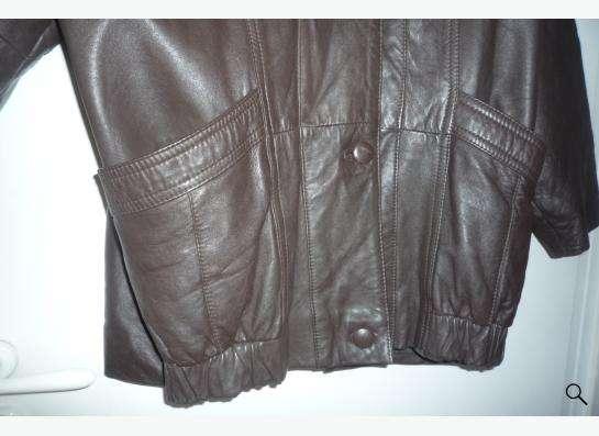 Куртка кожаная-52раз.новая из Турции.т.89137768497 в Новосибирске фото 4