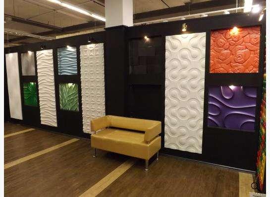 Стеновые 3D панели из гипса в Екатеринбурге фото 4