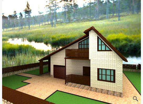 Готовый проект дома 1-12