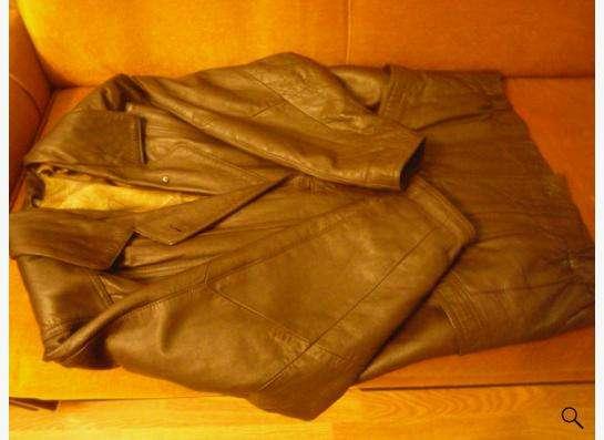 Куртка кожаная-52раз.новая из Турции.т.89137768497 в Новосибирске фото 6