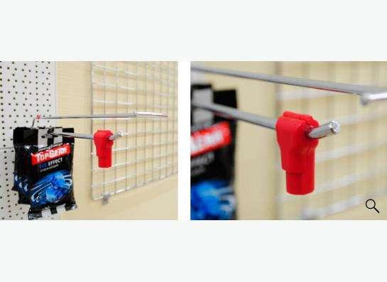 Антикражка - стоплок. Защита товаров на крючках