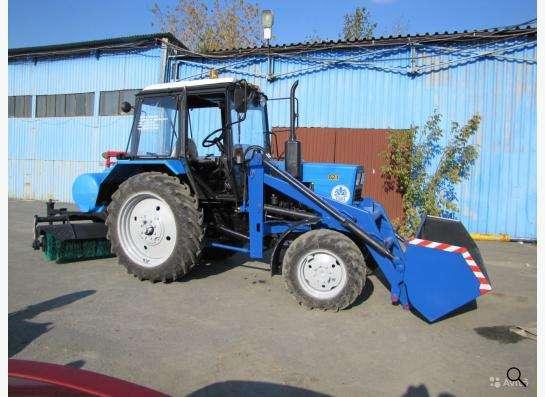Аренда трактора мтз 82.1 с щеткой в Екатеринбурге