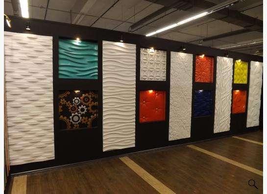 Стеновые 3D панели из гипса в Екатеринбурге