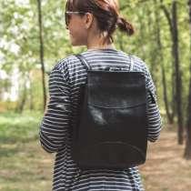 Сумка-рюкзак из эко-кожи (новый), в Москве
