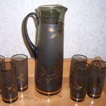 Набор для напитков Богемия (ЧССР) 1980 г, в Москве