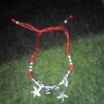 Красная защитная нить, оберег, часы, браслет, в г.Дубна
