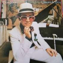 """Продам виниловый диск Элтон Джон """"Greatest Hits"""",1974г, в Евпатории"""