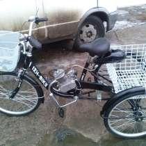 Грузовой велосипед с мотором, в Москве