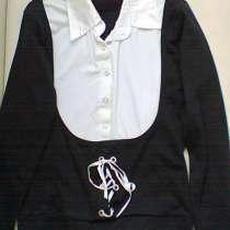 Новый Кардиган с рубашкой обманкой от 116-128 раз, в Москве