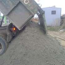 Песок, щебень, отсев, керамзит, в Краснодаре