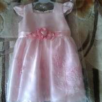 Платье нарядное. От 1 до 2 лет, в Таганроге