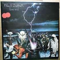 Пластинка виниловая Black Sabbath – Live Evil, в Санкт-Петербурге