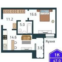 Двухкомнатная квартира в мкр «Дружба» г. Тюмень, в Тюмени