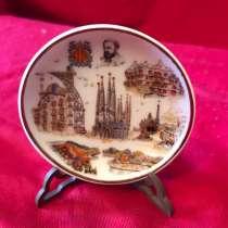 Коллекционная малая декоративная тарелка, в г.Москва