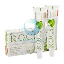 Набор зубных паст R.O.C.S. Двойная мята Энергия утра 60 мл, 2 шт., в Москве