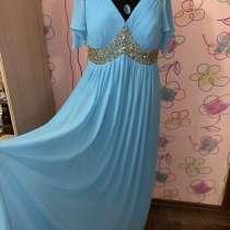 Платье нарядное 54-56 размера для дам с шикарными формами, в Омске