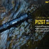 NiteCore Небольшой тактический фонарь - NiteCore P12GT, в Москве