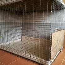 Клетка - вольер б/ у, размер 120 х 90 х 90, в Казани