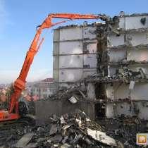 Демонтаж зданий, сооружений, домов, металлоконструкций, в Новосибирске