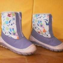 Утепленные весенние сапожки для девочки 32 размера, в Санкт-Петербурге