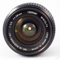 объектив для фотоаппарата Minolta, в г.Иркутск