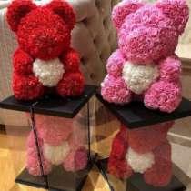Мишка из роз / Teddy bear rose | Оригинальный подарок, в Москве