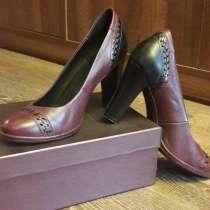 Туфли из натуральной кожи, в Омске
