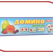 Настольная игра Stellar Домино Большое №14 Фрукты, в Москве
