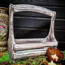 Ящик декоративный с деревянной ручкой, в г.Минск
