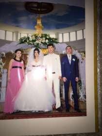 Платье свадебное одивала один раз, новая, пышная, цет эйаари, в г.Алматы