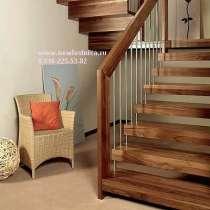 Красивые лестницы для квартиры и дачи из массива. Егорьевск, в Егорьевске