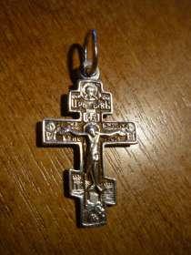 Серебряный православный крест, в Москве