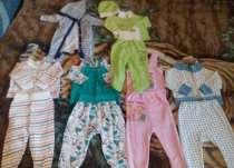 6 костюмов на ребенка 2-4мес, в Ставрополе