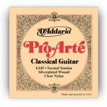 Струны нейлон. D'Addario EJ-45 для классической гитары, в Благовещенске