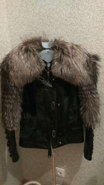 Меховая куртка из чернобурки и ворса пони, в Екатеринбурге