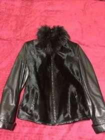 Куртка кожаная новая, в г.Николаев
