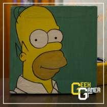 Картина Гомер Симпсон (холст/масло), в Уфе