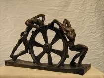 "Скульптура из бронзы ""Сизифы"", размер: 36х23х12 см, в Санкт-Петербурге"