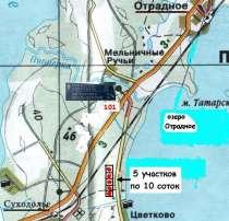 20 соток у озера на Карельском перешейке, в Санкт-Петербурге