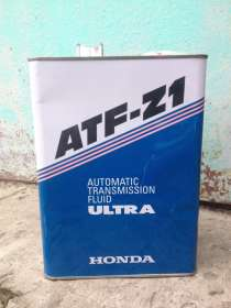 ATF Z1 для АКПП а/м HONDA, в металлической банке, 4 л, банка, в Химках