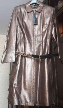 Пальто новое, натуральная кожа, Турция, в Москве