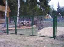 Ворота с сеткой или прутьями, в Воронеже